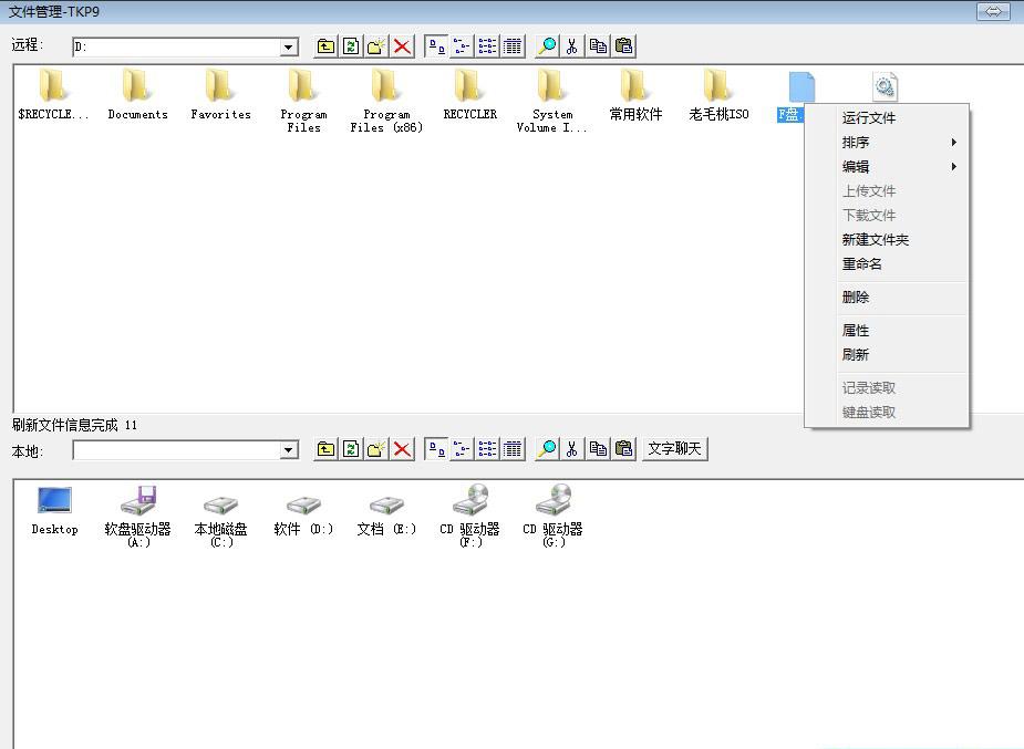 网络人电脑远程监控软件远程文件管理